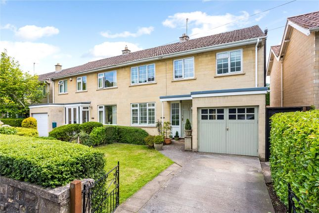 Thumbnail Semi-detached house for sale in Henrietta Gardens, Bath