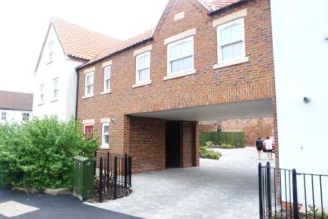 Thumbnail Flat to rent in Blucher Lane, Bechside Wharf, Beverley
