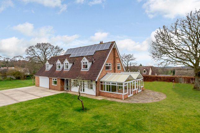 Thumbnail Detached house for sale in Martlesham Road, Little Bealings, Woodbridge, Suffolk