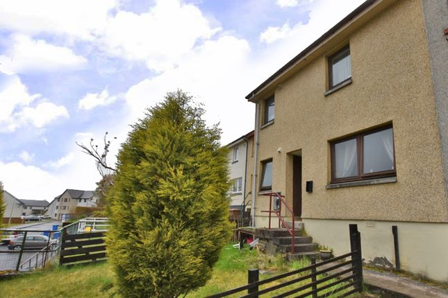 Thumbnail Terraced house for sale in Angus Crescent, Fort William