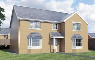 Thumbnail Detached house for sale in Nant Seren, Church Village, Pontypridd