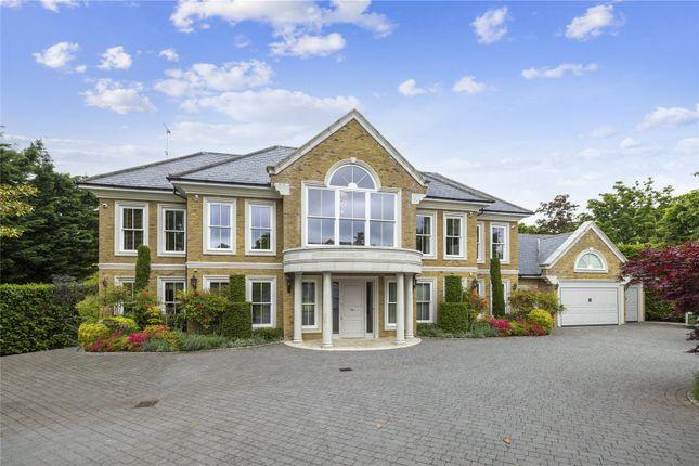 Thumbnail Detached house for sale in Princes Drive, Oxshott, Leatherhead, Surrey
