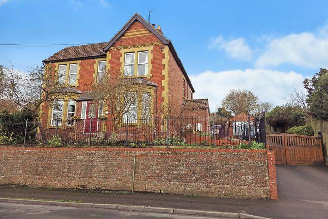 Thumbnail Detached house for sale in Church Lane, Westbury Leigh, Westbury