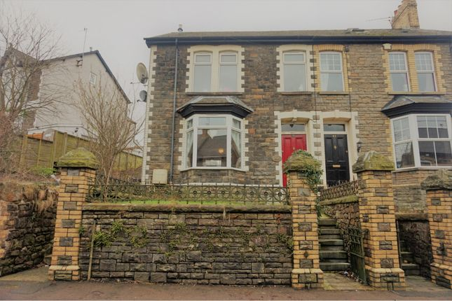 Thumbnail Semi-detached house for sale in Wainfelin Road, Pontypool