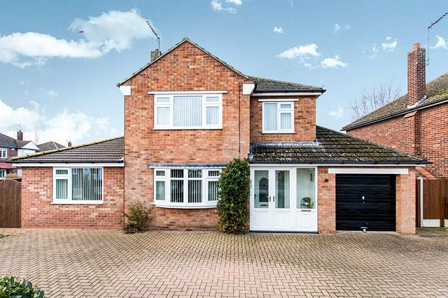 Thumbnail Detached house for sale in Wharfedale Drive, North Hykeham, Lincoln