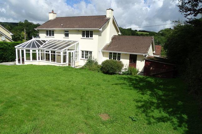 Thumbnail Detached house for sale in Brayford, Barnstaple