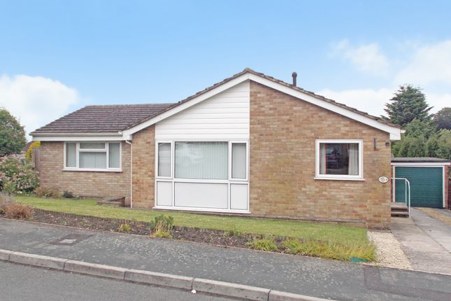 Thumbnail Detached bungalow to rent in Dorney Close, Westbury