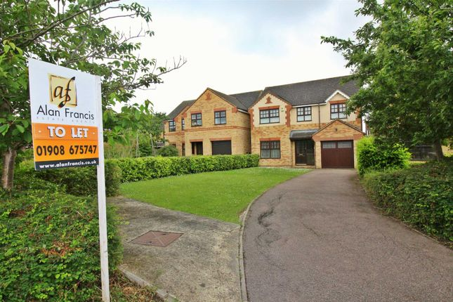 Thumbnail Detached house to rent in Beethoven Close, Old Farm Park, Milton Keynes
