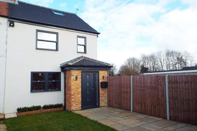 Thumbnail Semi-detached house for sale in Bedford Road, Brafield-On-The-Green, Northamptonshire