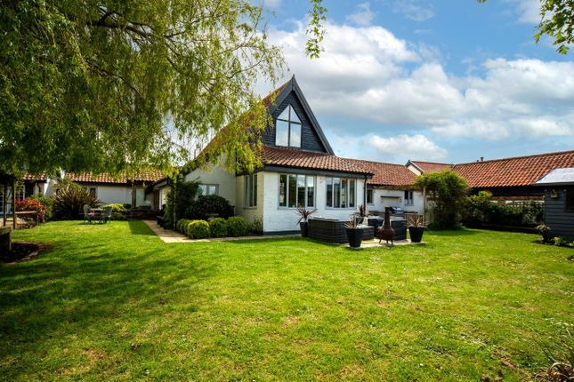 Thumbnail Barn conversion for sale in Mile Road, Winfarthing, Diss