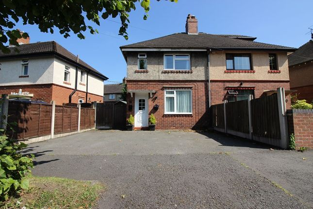 Thumbnail Semi-detached house for sale in Argles Road, Leek