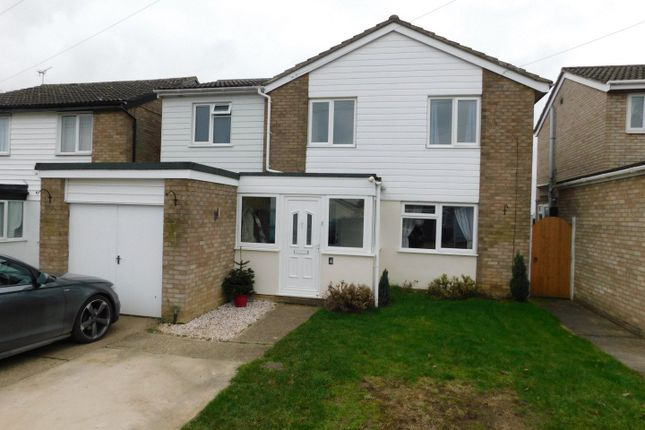 Thumbnail Detached house for sale in Mill Gardens, Elmswell, Bury St. Edmunds
