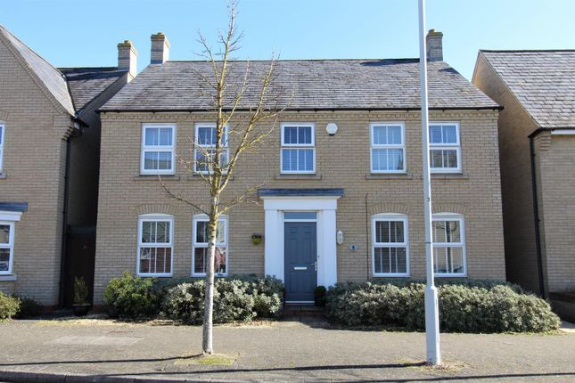 Thumbnail Detached house for sale in Cockrells, St. Neots