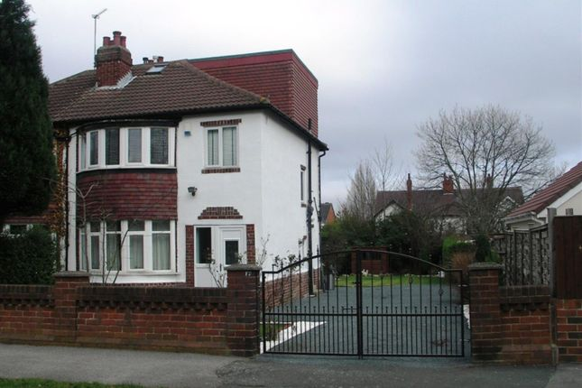 Thumbnail Semi-detached house to rent in Fearnville Avenue, Leeds