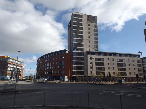 Thumbnail Flat for sale in Aquila House, Falcon Drive, Celestia, Cardiff Bay