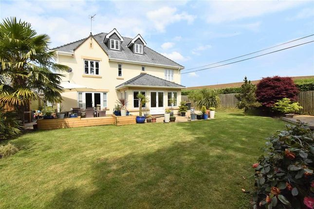 Thumbnail Detached house for sale in Lime Kiln Court, Llanvaches, Caldicot