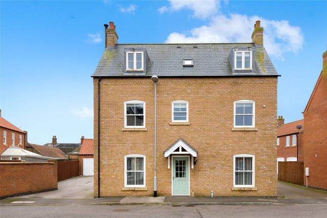 Thumbnail Detached house for sale in Honeysuckle Lane, Wragby, Market Rasen, Lincolnshire