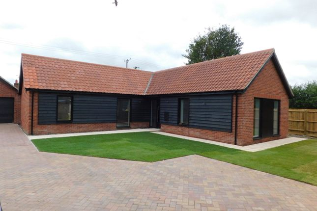 Thumbnail Detached bungalow for sale in Church Road, Bacton, Stowmarket