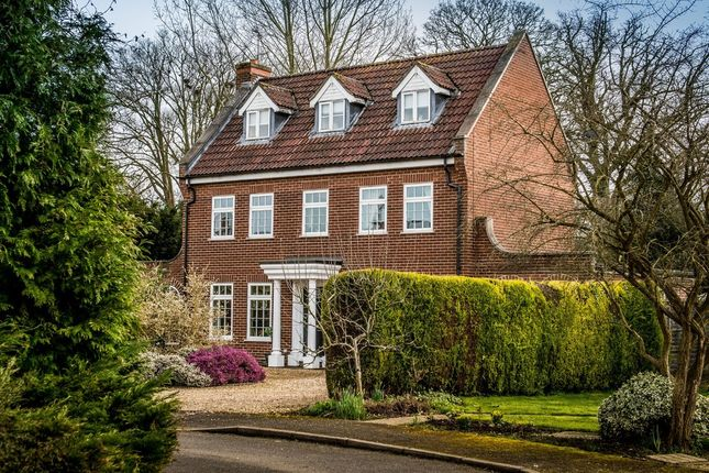 Thumbnail Detached house for sale in Somerby Close, Moulton, Spalding