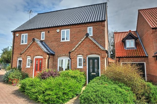 Thumbnail Semi-detached house for sale in Stable Field Way, Hemsby