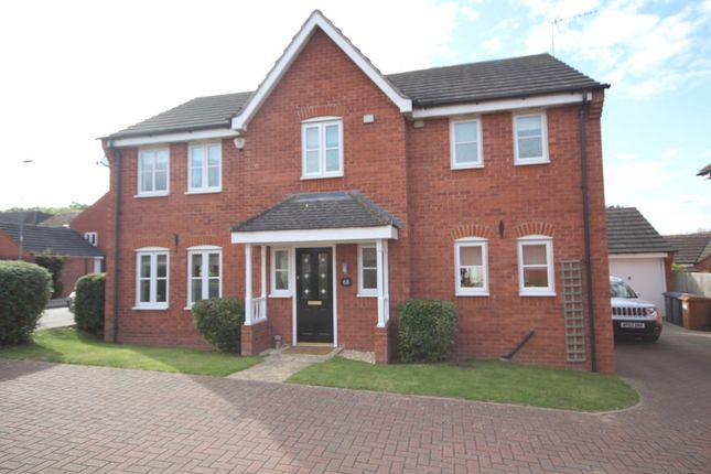 4 bed detached house for sale in Barons Close, Kirby Muxloe, Leicester