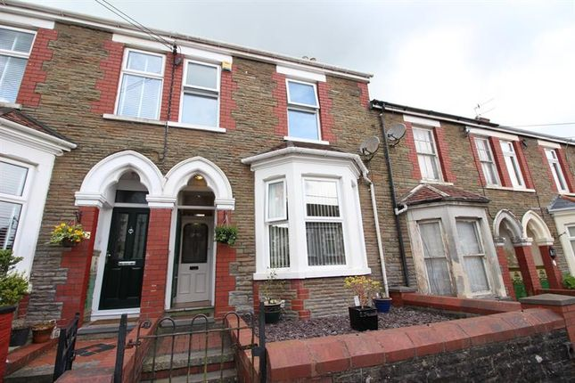 Thumbnail Terraced house for sale in Princes Avenue, Caerphilly