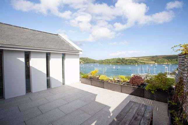 Roof Terrace of Freshwater Lane, St Mawes, Cornwall TR2
