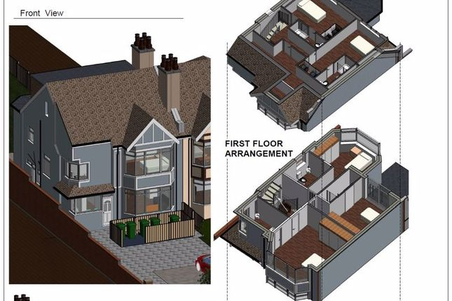 Thumbnail Semi-detached house for sale in Brighton Road, Purley