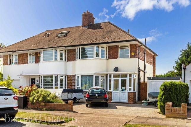 Thumbnail Semi-detached house for sale in Timbercroft, Epsom