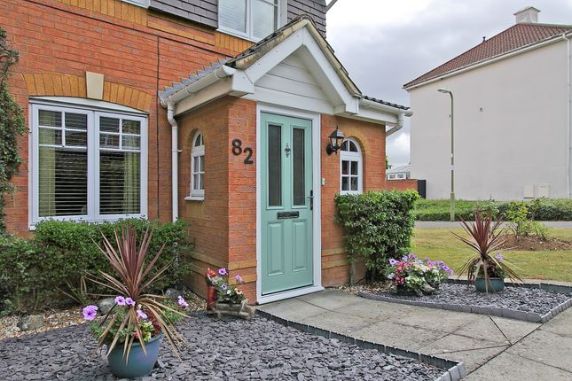 Thumbnail End terrace house for sale in Berry Way, Andover