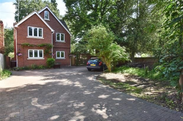 Thumbnail Detached house for sale in The Crescent, Farnborough, Hampshire