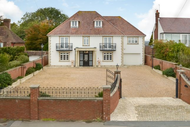 Thumbnail Detached house for sale in Portsdown Hill Road, Portsmouth