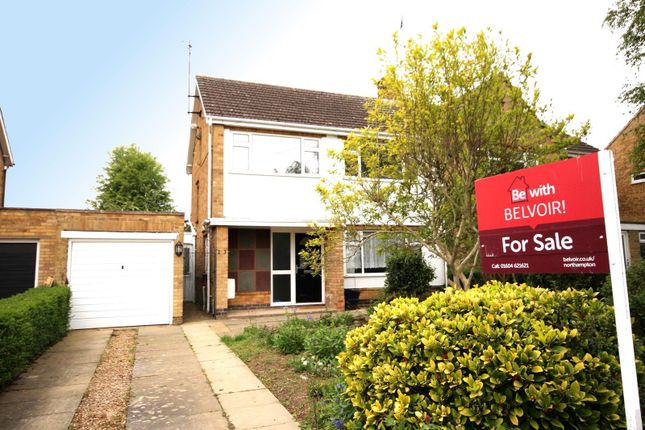 Thumbnail Semi-detached house for sale in Main Road, Duston, Immaculate 3 Bed