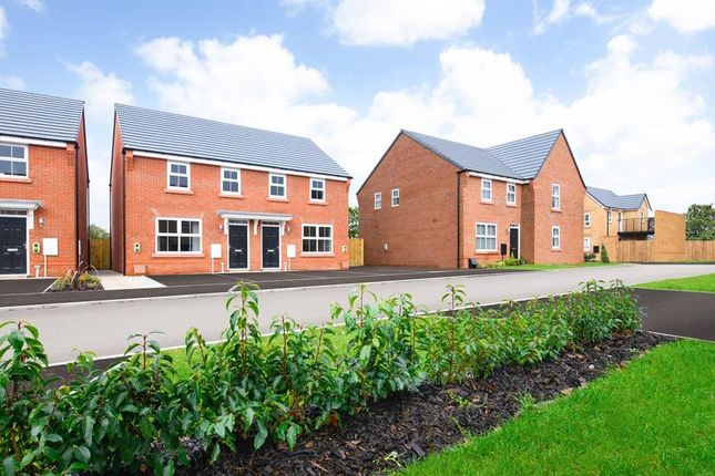 "Thumbnail Semi-detached house for sale in ""Archford"" at Waterlode, Nantwich"