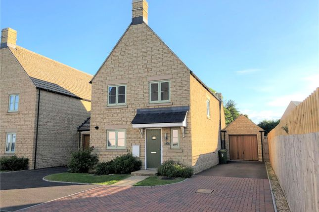 Thumbnail Detached house to rent in Merlin Close, Upper Rissington, Gloucestershire