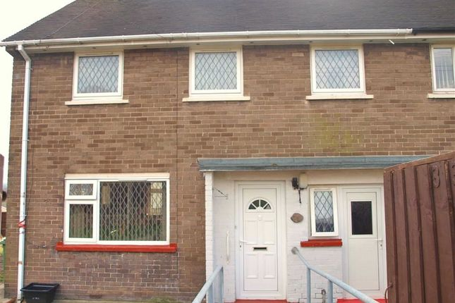 Thumbnail Semi-detached house for sale in Bryn Hedd, Southsea, Wrexham