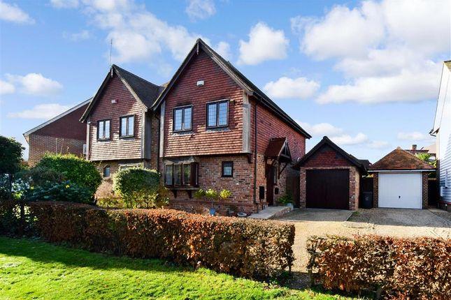 Thumbnail Semi-detached house for sale in Chantry Park, Sarre, Birchington, Kent