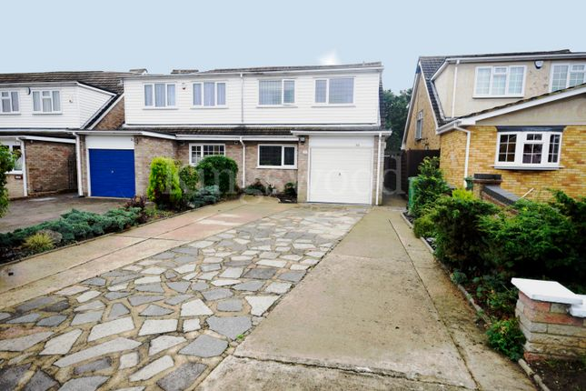 Thumbnail Semi-detached house for sale in Victoria Road, Laindon