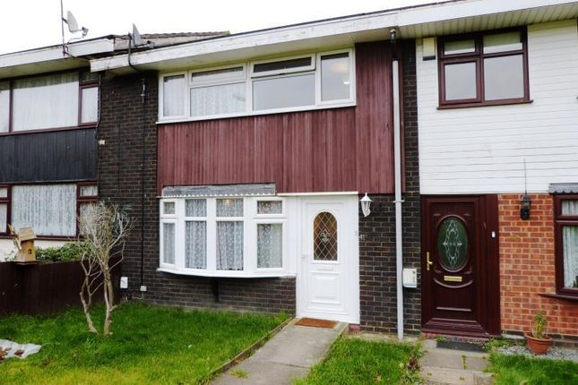 Thumbnail Terraced house for sale in Markhams Chase, Basildon