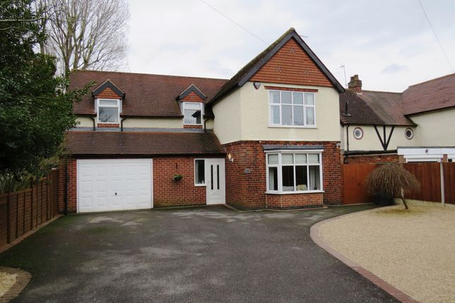 Thumbnail Detached house for sale in Burton Road, Findern, Derby
