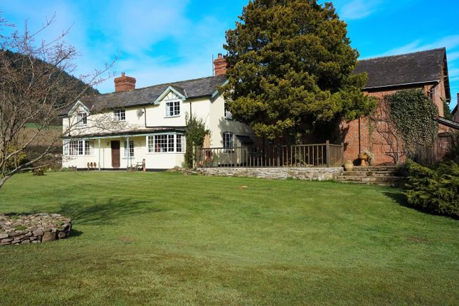 Thumbnail Detached house for sale in Wigmore, Leominster