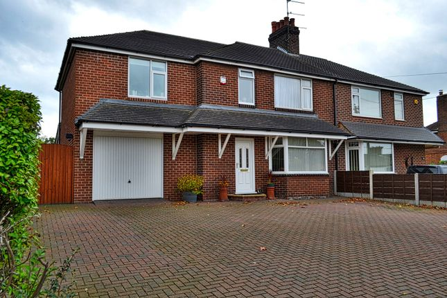 Thumbnail Semi-detached house for sale in Congleton Road North, Scholar Green