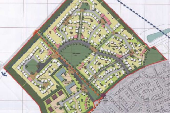 Thumbnail Land for sale in Kings Acre, Mansfield