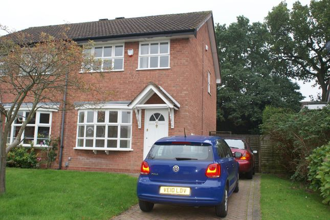 Thumbnail Semi-detached house to rent in New Meadow Close, Birmingham