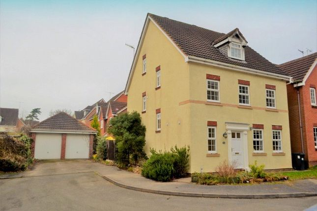 Thumbnail Detached house for sale in Admington Drive, Hatton Park, Warwick, Warwickshire
