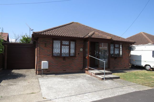 Thumbnail Detached bungalow for sale in Hannett Road, Canvey Island