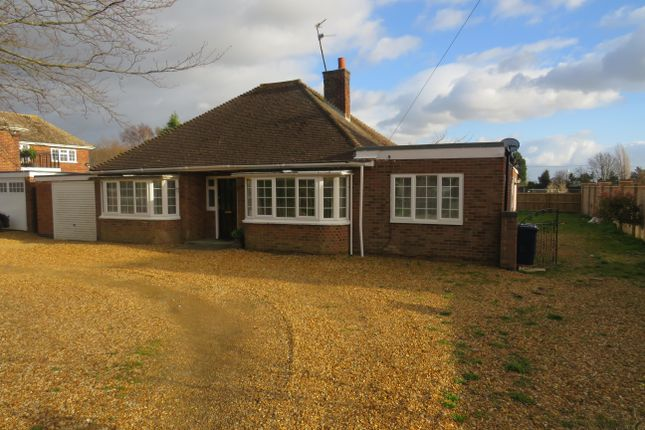 Thumbnail Bungalow to rent in Coates Road, Coates, Peterborough