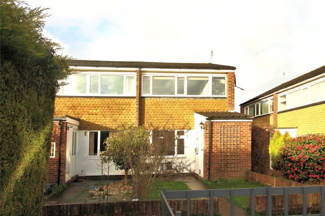Thumbnail End terrace house for sale in Kingfield, Woking, Surrey