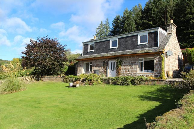 Thumbnail Detached house to rent in Lower Woodend, Lords Throat, Monymusk, Inverurie, Aberdeenshire