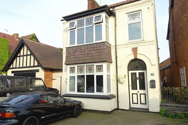 3 bed detached house for sale in Leicester Road, Hinckley